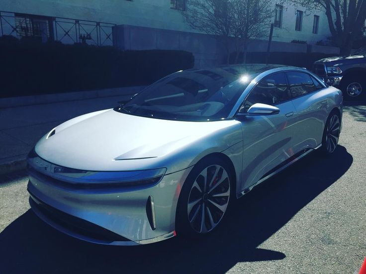 The Lucid Air: Tesla may have a real fight on their hands.