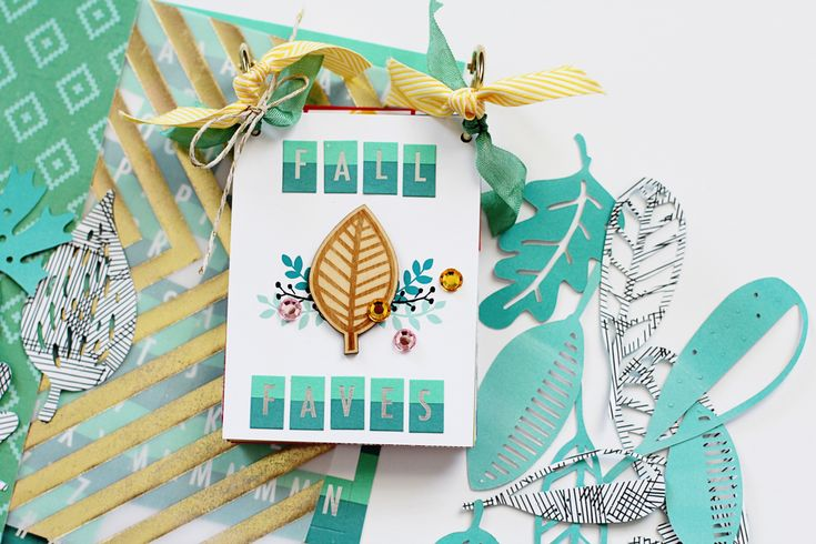 """Hello crafty friends!     I have a mini album that I created using the November 2016 Embellishment Kit , """"Hello Autumn"""", from Freckled Fawn..."""