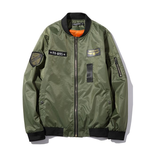 We love it and we know you also love it as well Military Jacket Men 2017 Spring New Fashion Casual Men Bomber Jacket MA-1 Style Army Air Force Jackets and Coats Chaqueta 5XL just only $23.22 with free shipping worldwide  #jacketscoatsformen Plese click on picture to see our special price for you