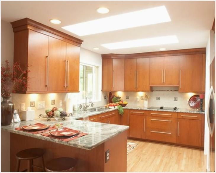 123 Light Cherry Kitchen Cabinets Ideas Cherry Cabinets Kitchen Contemporary Kitchen Kitchen Design