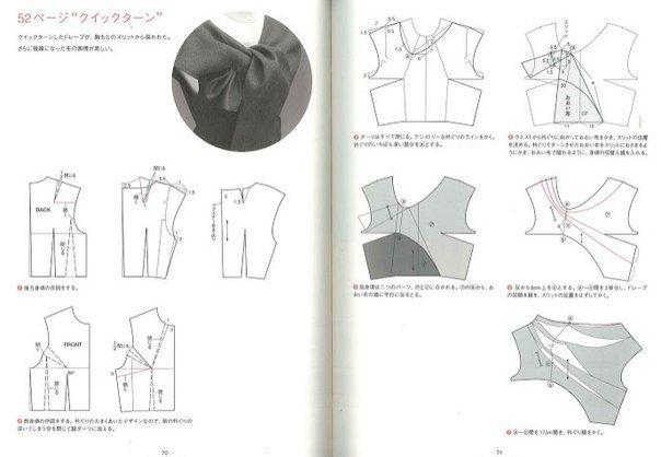 Платье с необычной драпировкой / Простые выкройки / ВТОРАЯ УЛИЦА