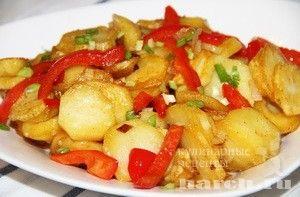 Картофель, жареный по-испански