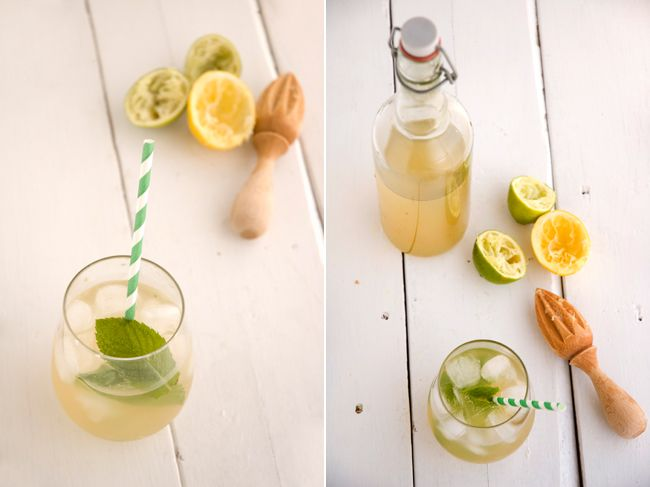 Home made ginger ale!  Looks super easy and a fun beginner fermentation project...