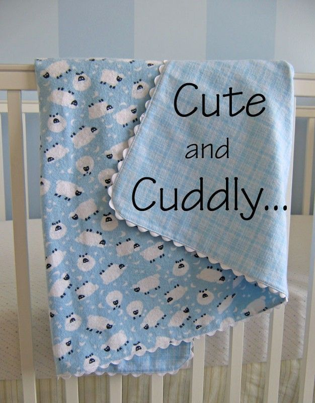 Free Receiving Blanket Part 1  YCST Project  Sew Baby