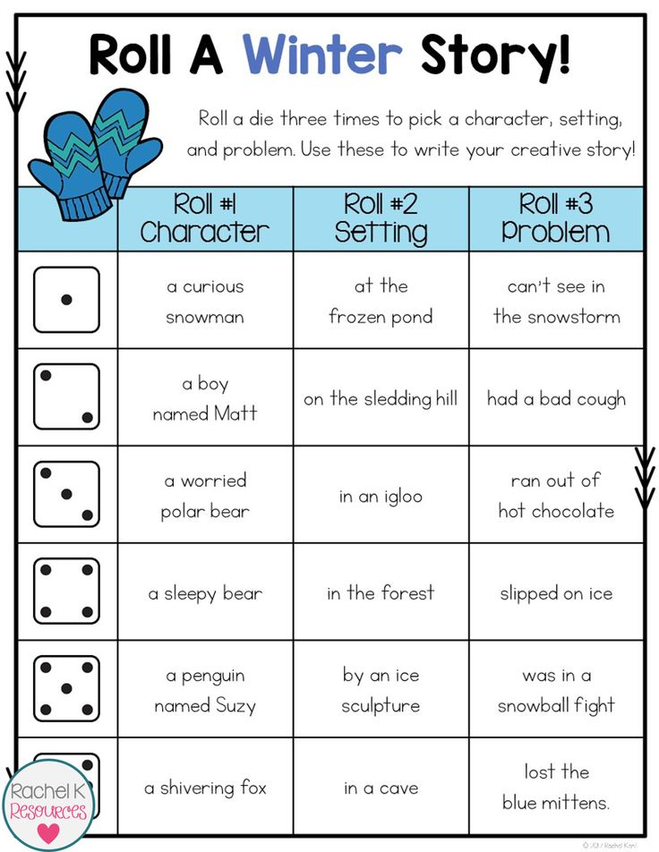 These roll a story boards will get students writing creatively all year long! There are 25 seasonal and themed boards that are packed with creative story starters!