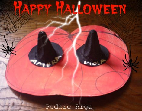 #Halloween DIY cappellini da strega segnaposto e faidate My beautiful picture