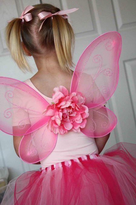 Flower Fairy costume - homemade tutu tutorial