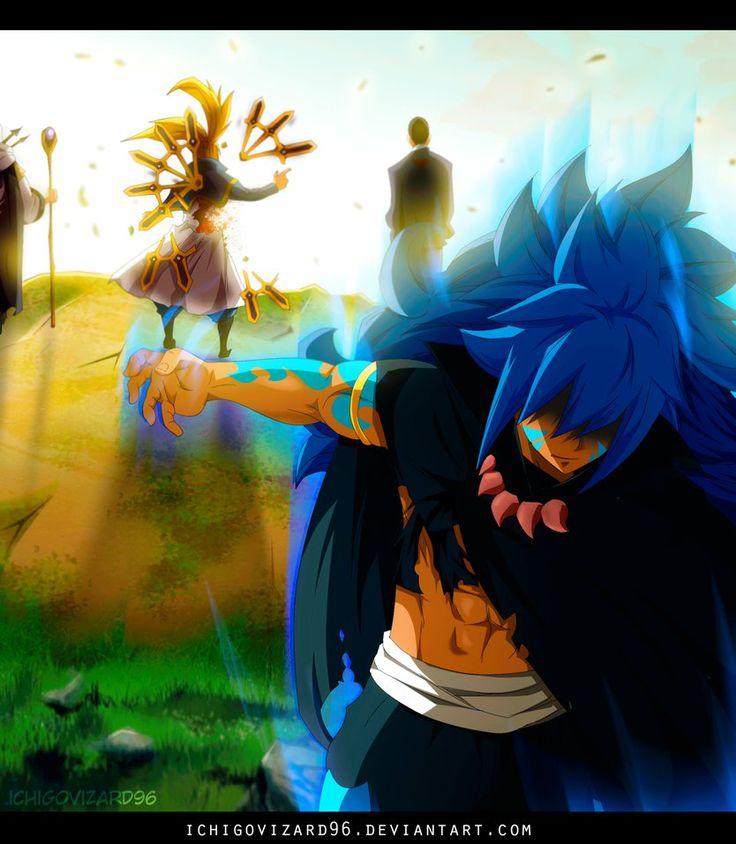 Fairy Tail 470 - Acnologia vs God Serena by IchigoVizard96 ...