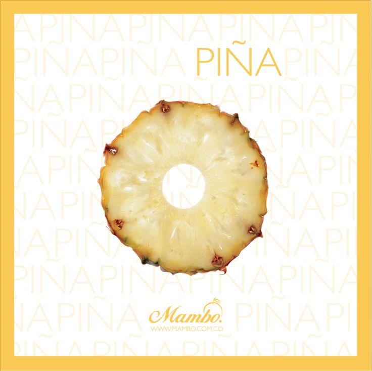 Piña, un diurético natural Frutas y verduras Mambo Cartagena de Indias www.mambo.com.co