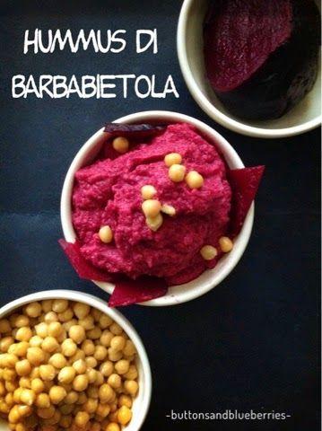 Easy Vegan - ricette vegan e fai-da-te green: Hummus di barbabietola rossa