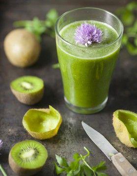 Smoothie poire kiwi
