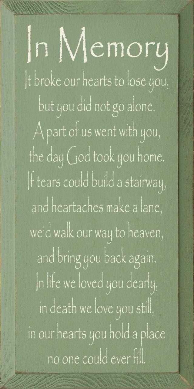 Always missing you...Mama and Daddy