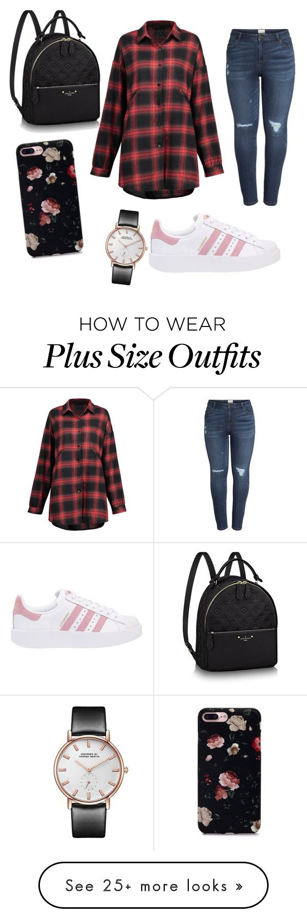 """..."" by galaxy-breath on Polyvore featuring Caslon, adidas Originals and plus size clothing"