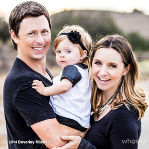 7th Heaven alum Beverley Mitchell is expecting her first son! The 33-year-old actress and mother ...