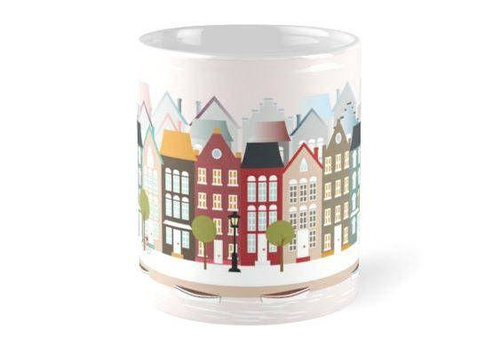 Amsterdam tazas ciudadestazas decorativas tazas