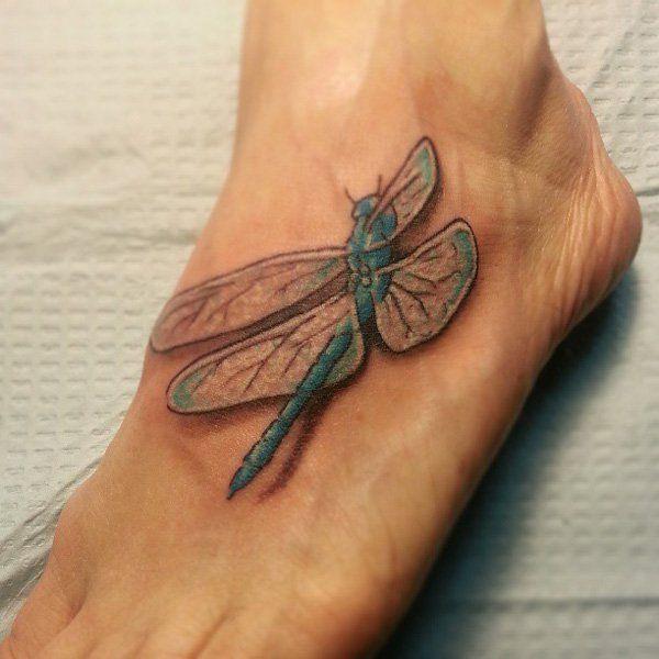 magnolia foot tattoo - photo #17