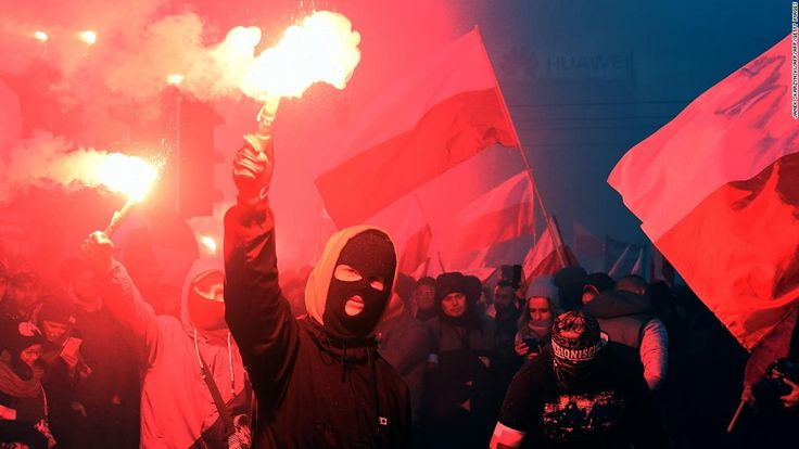 Nationalist protesters disrupt Poland independence day events - CNN