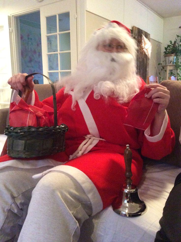 Joulupukki, joulupukki, valkoparta vanha ukki...