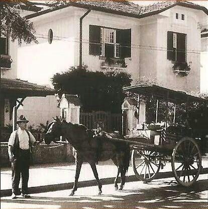Década de 40 - Em algum ponto da alameda Santos.