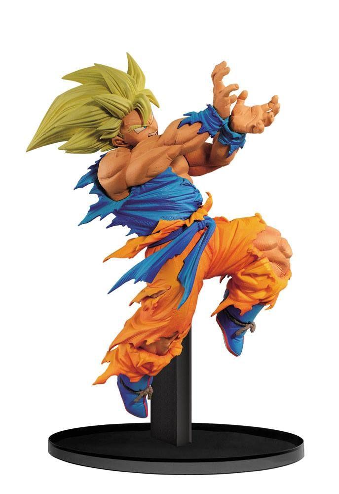 Figurine Dragon Ball Z Bwfc Vol 1 Goku By Hiroyuki Nakazawa 16cm De