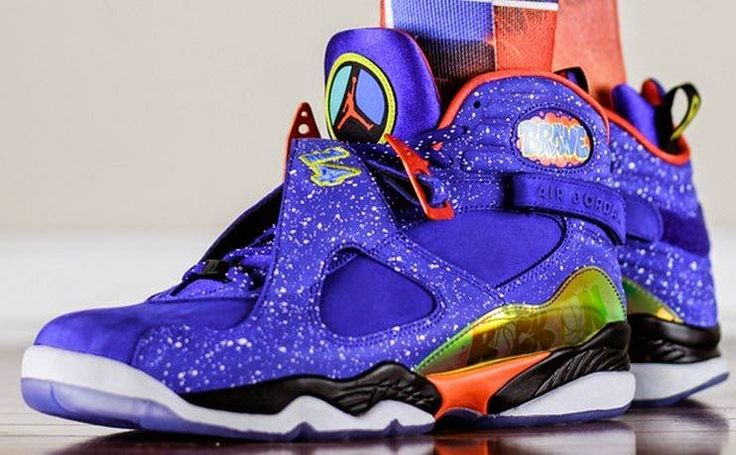 THE SNEAKER ADDICT: Air Jordan Doernbecher 8 Sneakers is available Now...