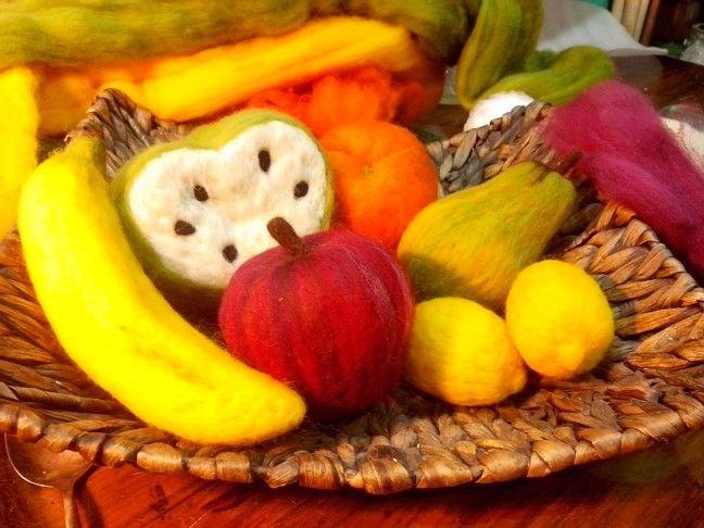 Mis frutas de fieltro