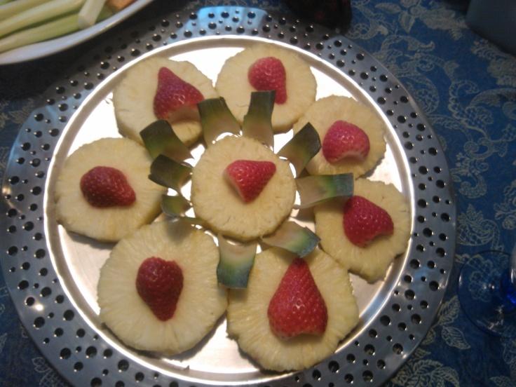 #creative #fruit at lunch #visitbari © visitbari A.P.