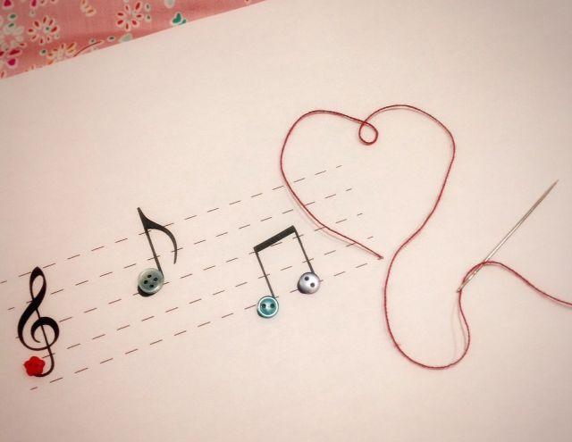 Música para costurar | Blog Francine Lacerda