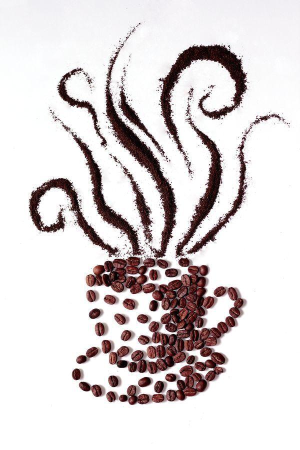 """Espectacular…una taza de café """"super apetitosa"""" hecha con los propios granos del #cafe….me estoy acordando de algo….¿vamos a por uno? #CoffeeBeans #coffeelovers"""