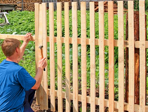 1000 Ideas About Fence Contractors On Pinterest Round
