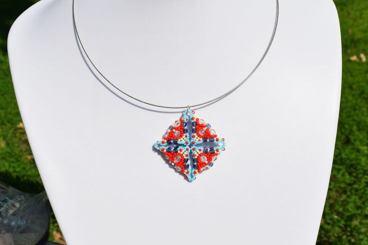 LUXURY RED-BLUE PENDANT