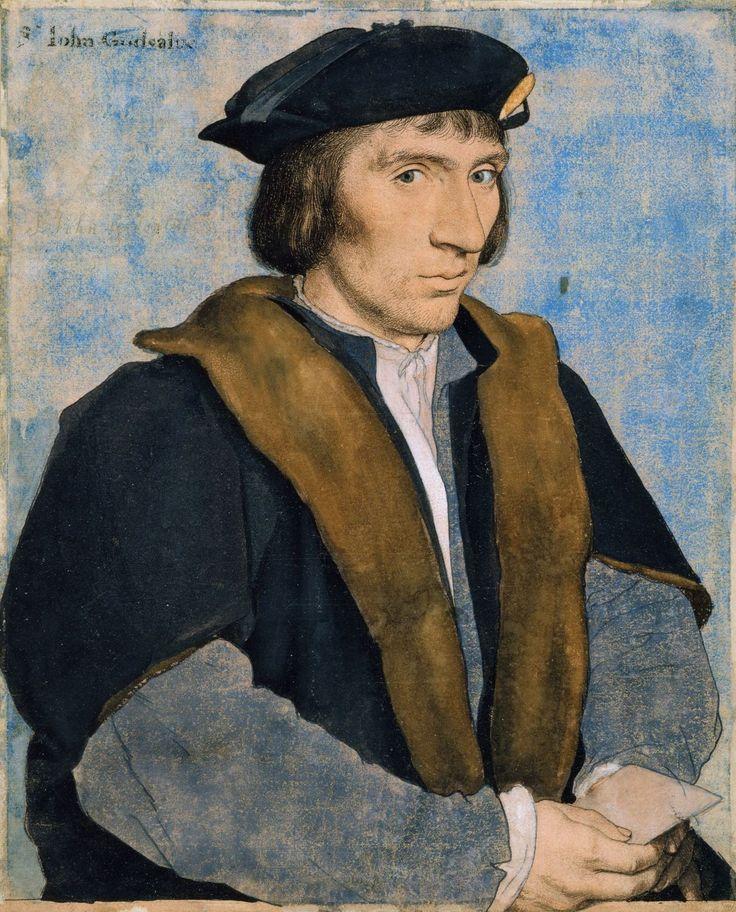 Sir John Godsalve (c.1505-1556)  by Hans Holbein the Younger (c. 1497-1543) c.1532-4