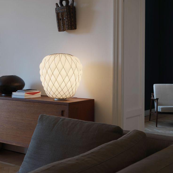 Pinecone lampe à poser