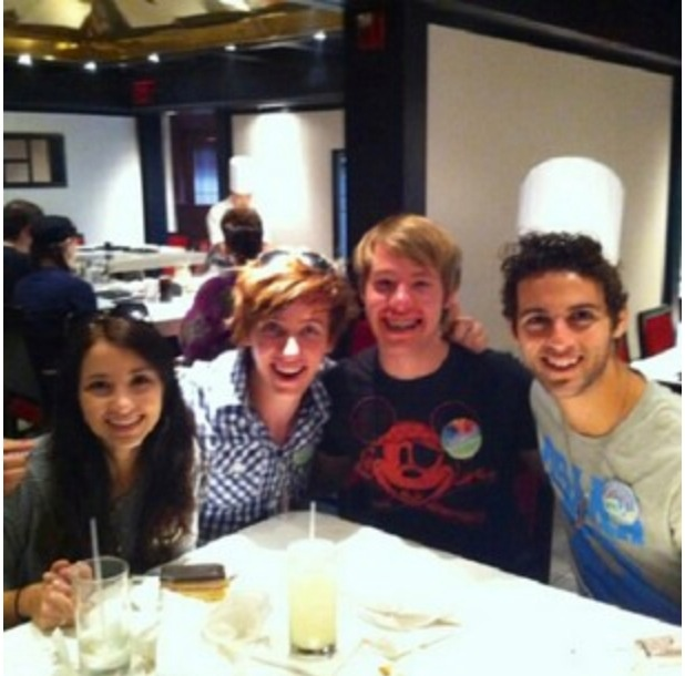 Emily Rudd and friends. Her only brother is on the far ...