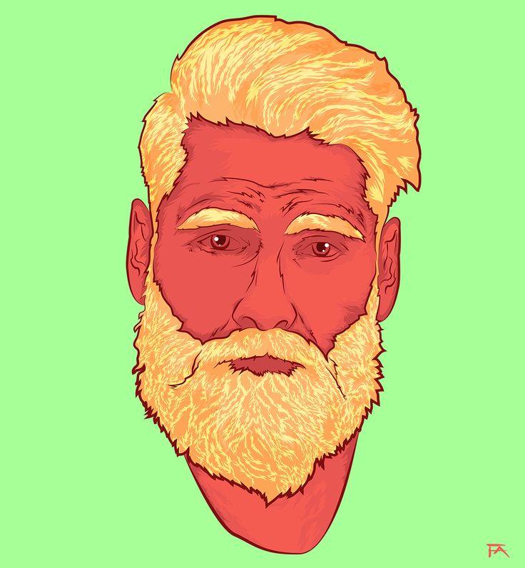 Beard on Behance