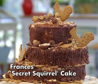 Great British Bake Off Squirrel Cake