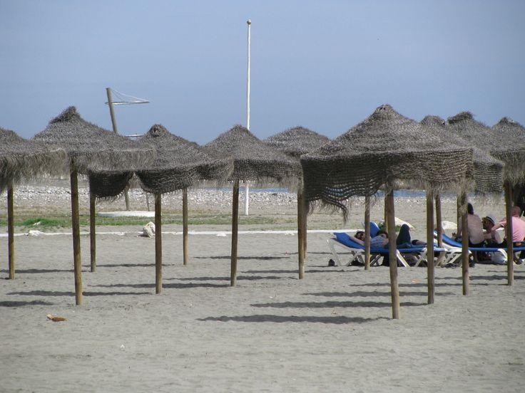 A PLACE IN THE SHADE - - Playa de Pedregalejo, Malaga, Spain