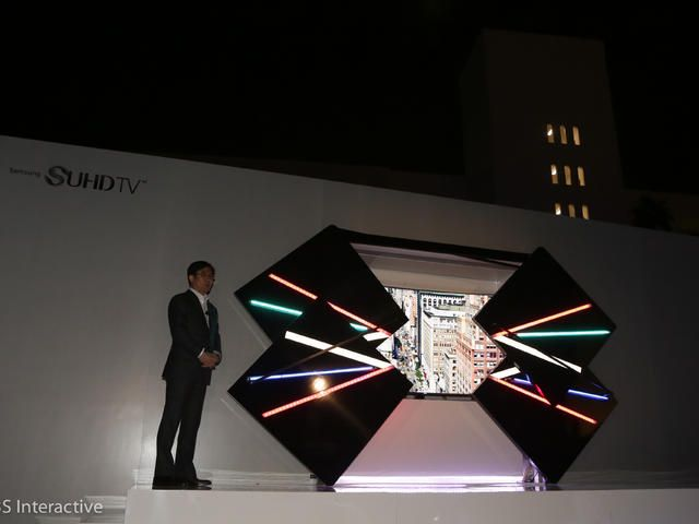 Samsung SUHD TVs represent the company's best picture quality using LED LCD displays. Smart TV UHD CES 2015
