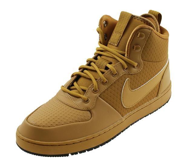 Nike Ebernon Mid Winter Geel Online Kopen Bij Sportpaleis Nike High Top Sneakers Sneakers