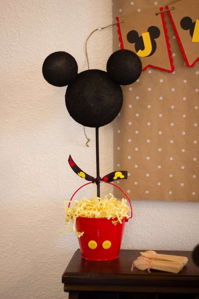 Mickey Mouse Birthday Party Ideas | Photo 1 of 30 | Catch My Party