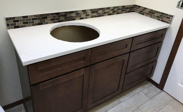 Diy quartz countertops bathroom in 2020 quartz