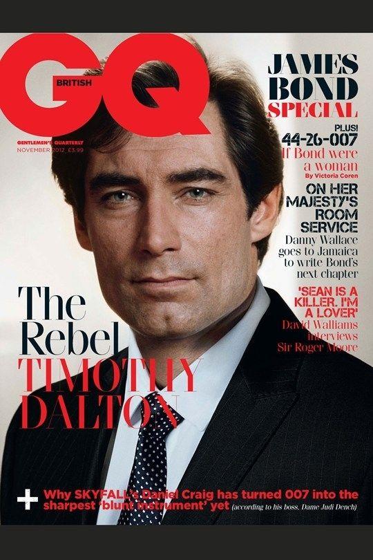 James Bonds Cover British GQ