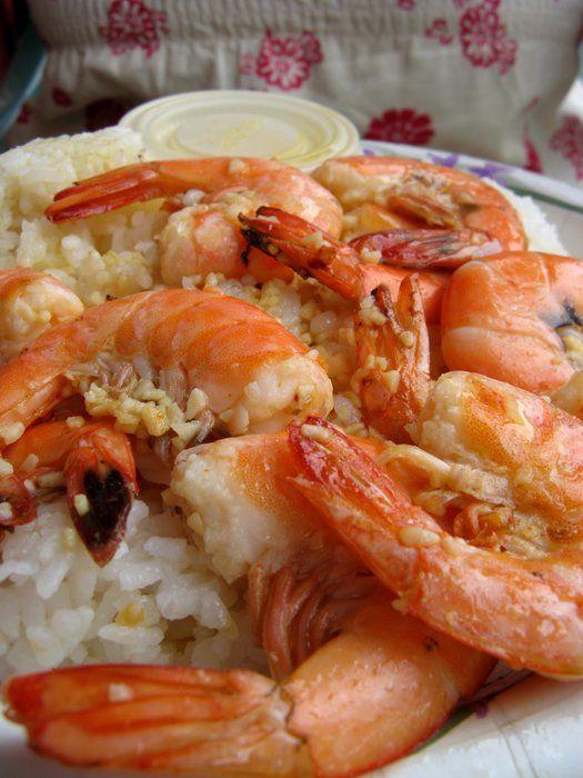best shrimp i ever ate.  shrimp shack oahu