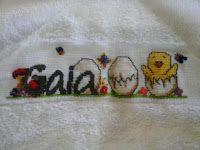 Artesanatos by Zenia: Toalha banho capuz pintinho e toalha fralda caramu...