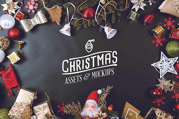 Christmas Assets & Mock Up Pack on Behance