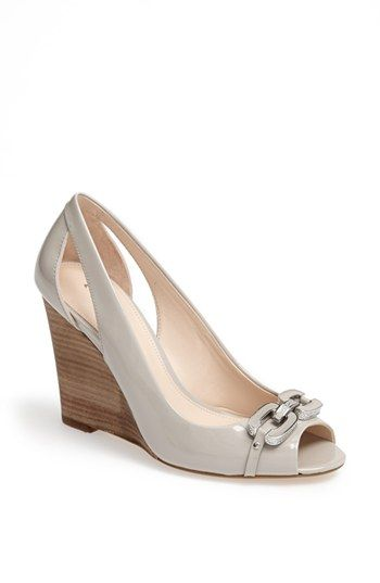 Coach Larchmont Wedge Pump Available At Nordstrom