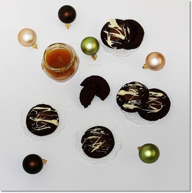 Gizi-receptjei.  Várok mindenkit.: Csokis-lekváros keksz.
