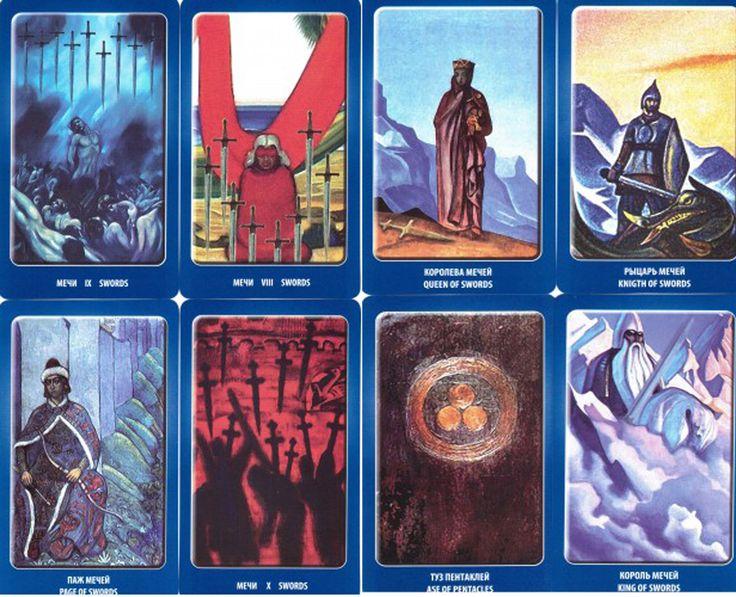 tarot book and card set