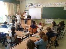 112 Carlota Galgos goes back to school