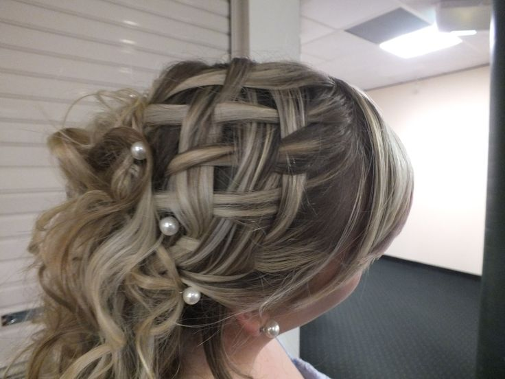 How To Make A Basket Weave Effect : Best images about woven effects on hair dos